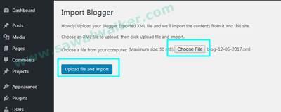 Cara Migrasi Blogger Blogspot Ke WordPress