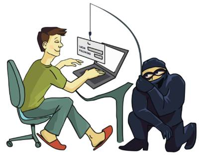 bentuk penipuan online