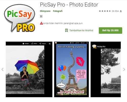 Aplikasi Edit Foto Vector di Android
