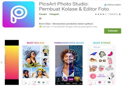 aplikasi edit foto kartun 3D