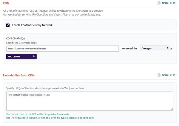 Cara Setting Plugin WP Rocket