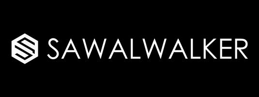 logo putih + title sawal walker