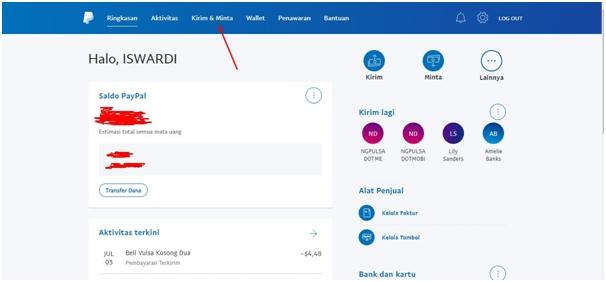 Beli Pulsa Lewat PayPal di PulsaSeluler.com
