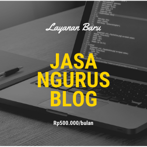 jasa ngurus blog